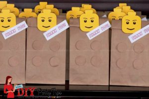 Lego Birthday Party Lootbags - DIY Party Tips