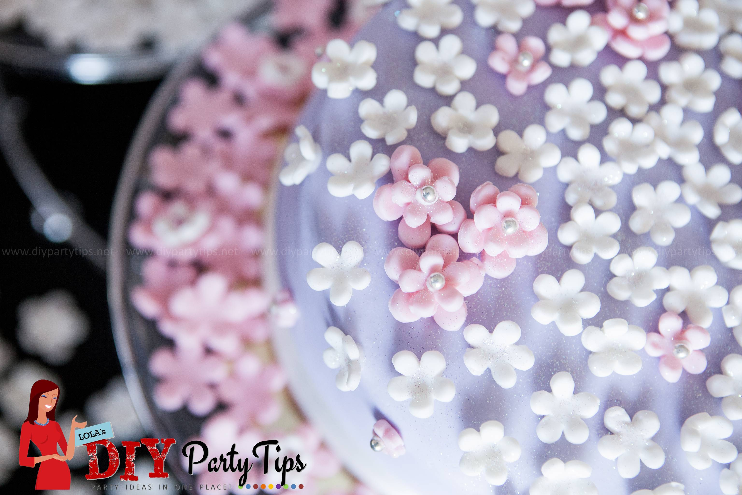 Putting Marshmallow Fondant On A Cake