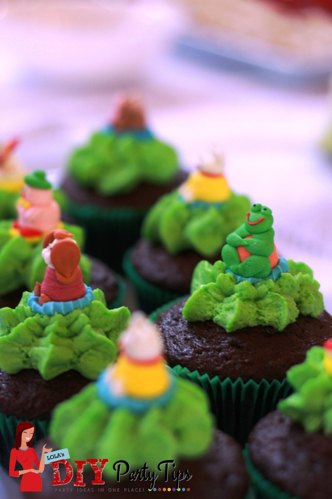 Matching Farm Cupcakes