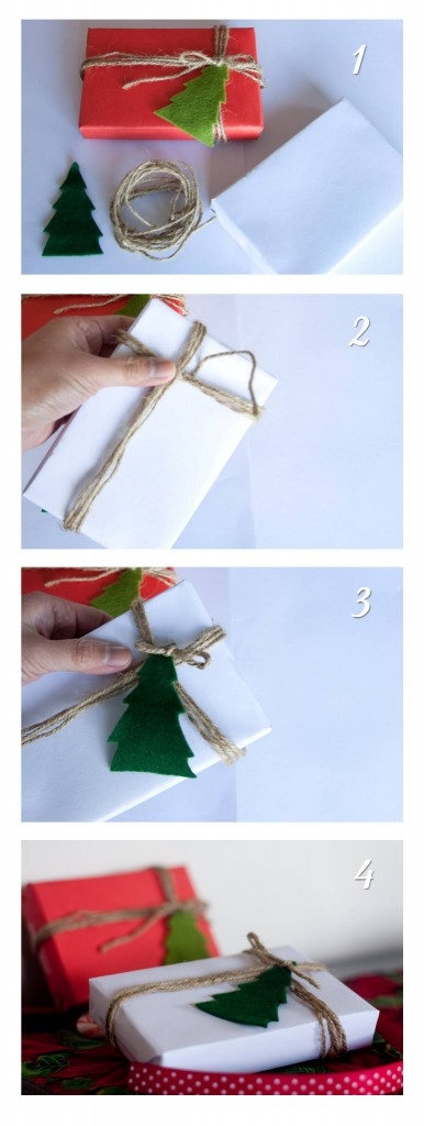 DIY Christmas Gift Wrapping Idea - Wrap it with Yarn