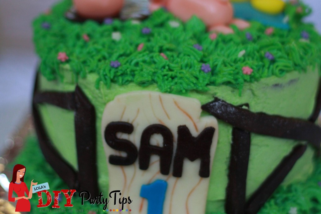 Sam's Farm 1st Birthday Cake