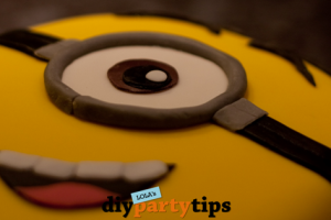 Featured DIY Party Tips - Minion Cake